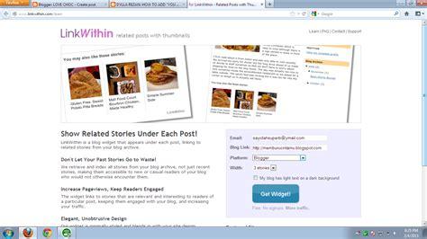 tutorial letak instagram dekat blog tutorial letak linkwithin dalam blog sayidahnapisahdotcom