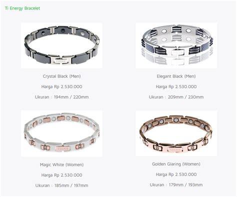 Gelang Titanium Semarang ti energy bracelet gelang kesehatan tiens store