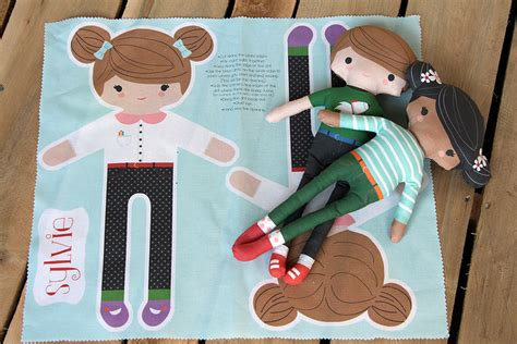 Handmade Doll Tutorial - diy customize your own cut and sew doll spoonflower