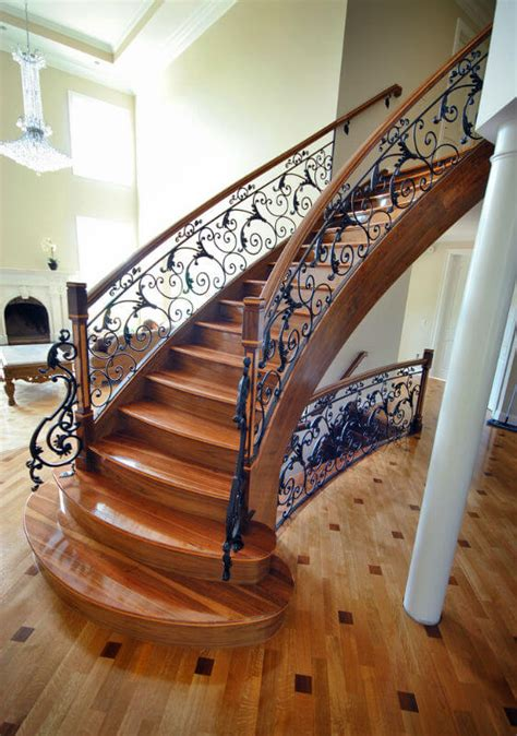Decorative Banisters by 33 Sensational Wooden Staircase Design Ideas Photos