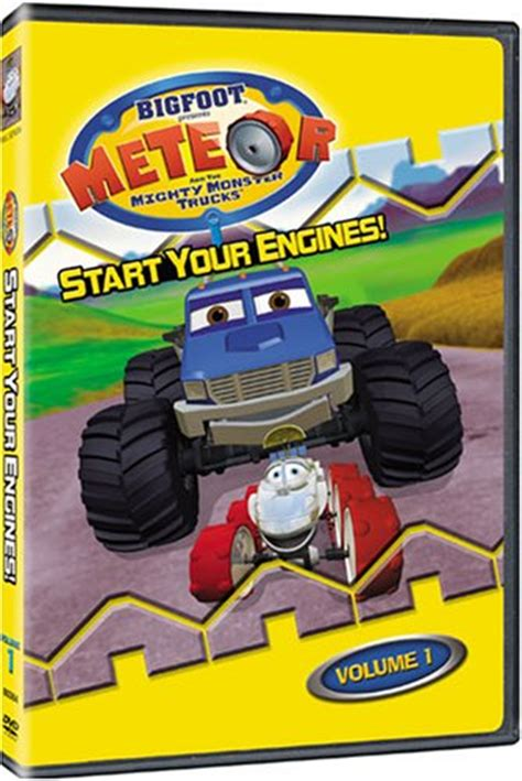 bigfoot presents meteor and the mighty monster trucks toys awardwiki bigfoot presents meteor and the mighty