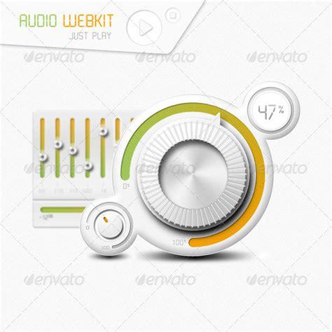 webkit design elements audio webkit graphicriver