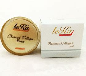 Collagen Platinum คร มลดร วรอยท เห นผล platinum collagen by leka ร านค าฟร smes shop by