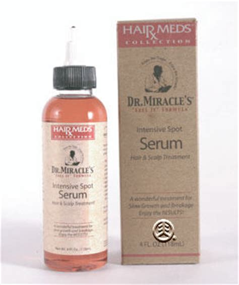 dr miracle hair growing results dr miracle s intensive spot serum 4oz