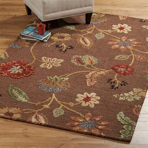 home decorators collection rugs home decorators collection portico brown 5 ft 3 in x 8