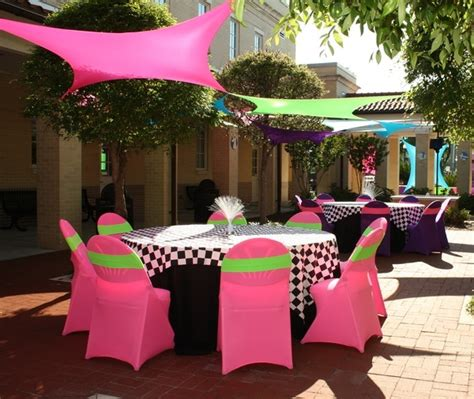80s table decorations 80 s in ta ta corporate event planning and