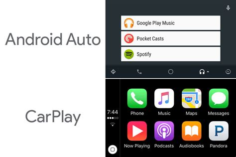 android auto app carplay vs android auto different approaches same goal ars technica uk