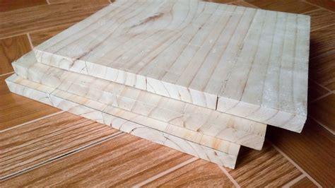 jual papan kayu pinus sambung pres ukuran xcm  lapak