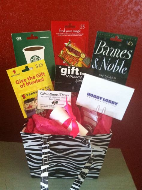 card gift ideas gift card gift basket gift ideas