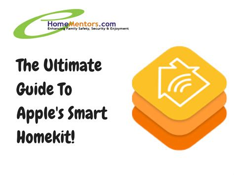 the ultimate guide to apple homekit