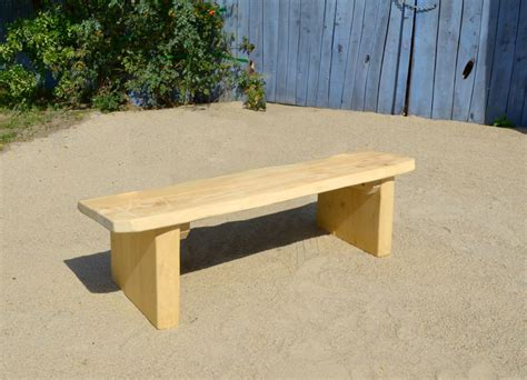 ohne lehne rustic bench without backrest ziegler spielpl 228 tze