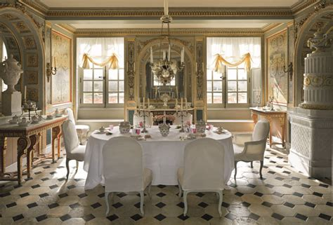 french chateau  interior world locations
