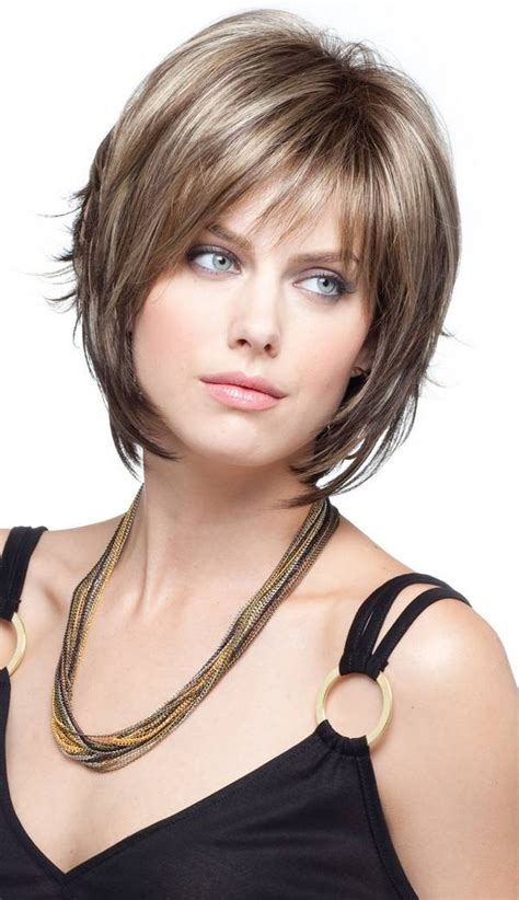 bob with bangs hairstyles for overweight women best bob for fat face picture short hairstyle 2013