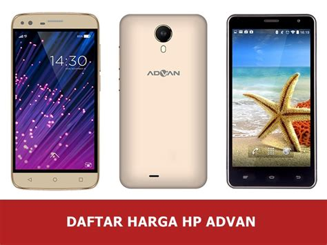 Harga Hp Merk Vivo V3 daftar harga hp advan android baru dan bekas update