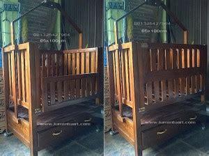 Ranjang Kayu Pendek ranjang dipan box tempat tidur bayi anak minimalis jari ud lumintu gallery furniture