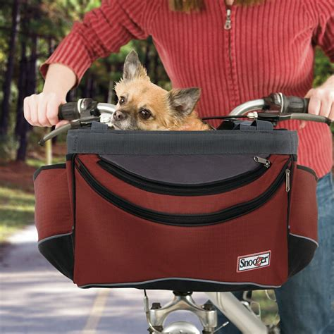 bike baskets for dogs snoozer sporty bike basket snoozer pet products