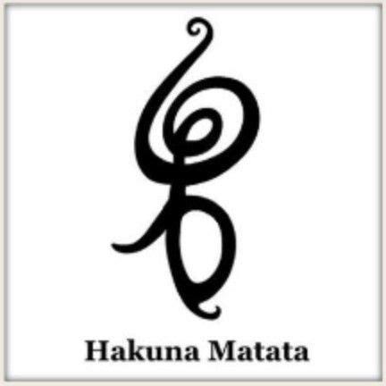 hakuna matata tattoo symbol getting inked basics disney no worries and the