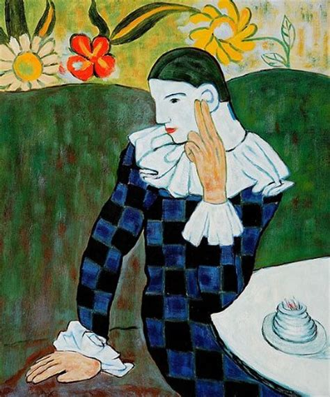 cheapest picasso painting for sale pablo picasso harlequin leaning on his for sale