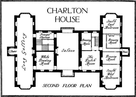 18th Century House Plans 18th Century German Floor Plans