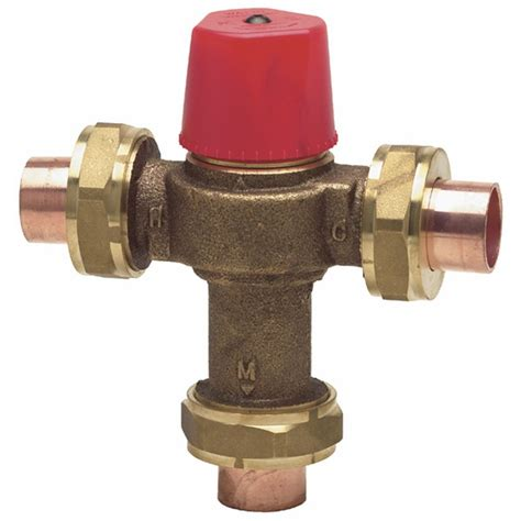Watts Faucet by Watts Thermostatic Mixing Valve 1 2 The Home Depot Canada