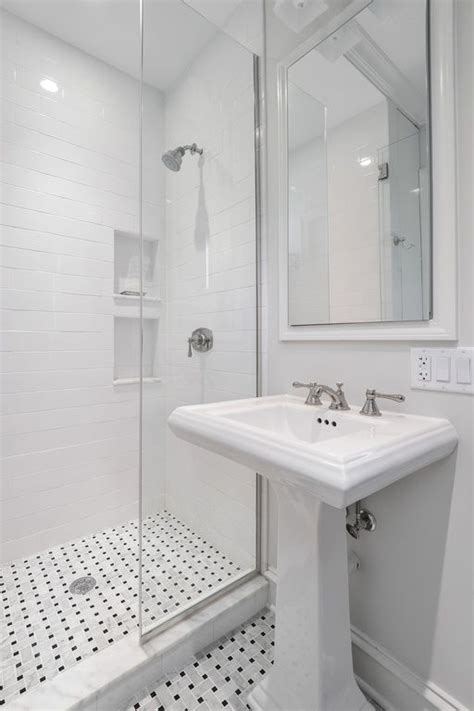 Traditional 3/4 Bathroom with Kohler Forte 8 in
