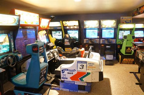 Google Office Playroom father amp son build insanely impressive retro 80s arcade in