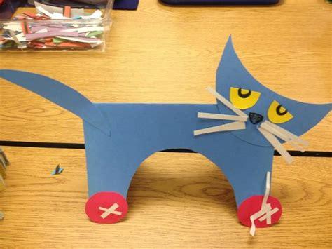 construction paper crafts for kindergarten coyne s preschool classroom pete the cat