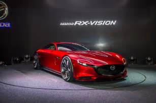 mazda new sports car mazda rx vision rotary engined sports car concept revealed