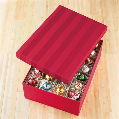 red moir 233 archival ornament storage box the container store