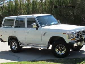 Toyota Land Cruiser 1990 1990 Toyota Land Cruiser 4wd With Winch