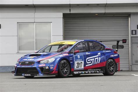 subaru nurburgring subaru wrx sti aiming for third n 252 rburgring 24h race