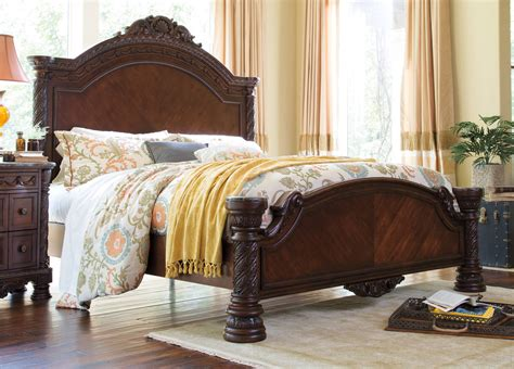 north shore bed north shore queen panel bed ashley home store