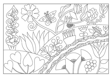 Coloring Cards - card drawings sketch coloring page