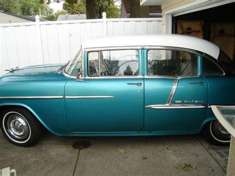 1955 Chevy Belair 4 Door by Sell Used 1955 Chevrolet Bel Air Base Sedan 4 Door In