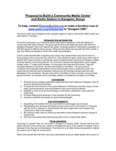 Radio Advertising Proposal Sample Program Proposal Template 16 Student Project
