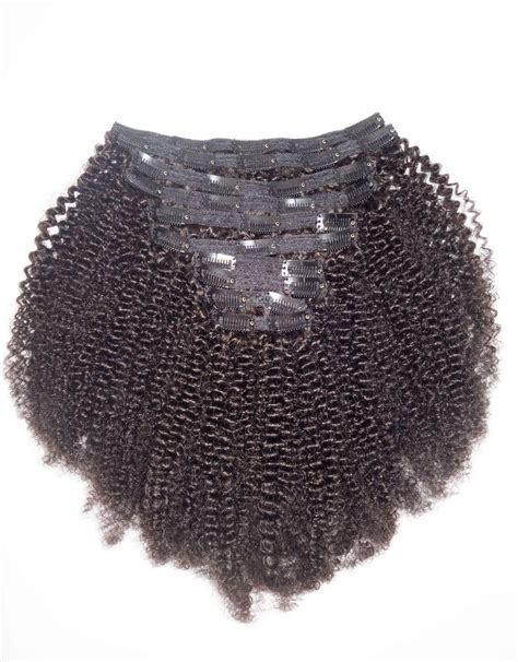 in clip afro curly clip in hair extensions betterlength