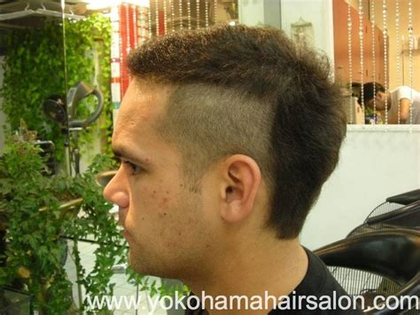 mohican hair cut joel got a cool rocky look by mohican style english