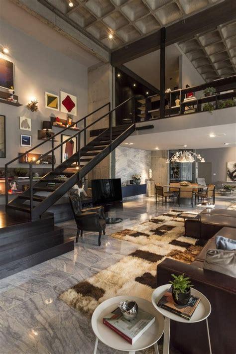 Loft Moderne Salon by Mille Et Une Id 233 Es Pour Le Salon Style Industriel En 44