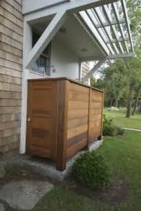 kohler shower base patio transitional with brick clapboard