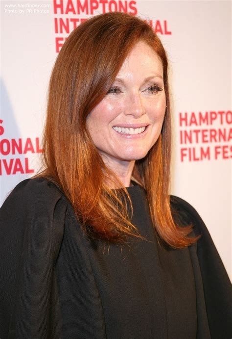 how can i get julianna moores hair color julianne moore s signature hair color crimson colored hair