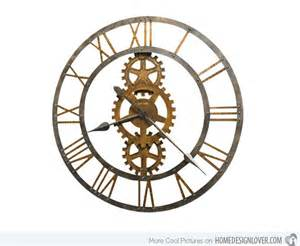 clock design 15 interesting industrial wall clock designs home design