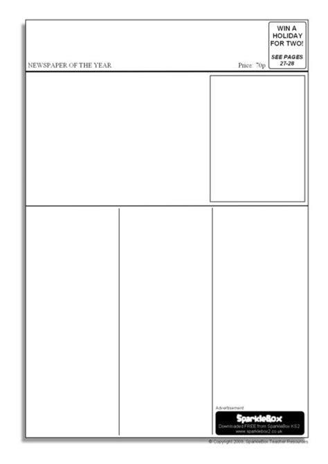 newspaper layout names editable newspaper templates sb6536 sparklebox
