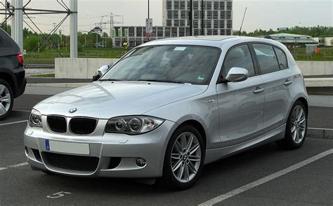 Bmw 1er E87 Wiki by Datei Bmw 116i M Sportpaket E87 Facelift Frontansicht