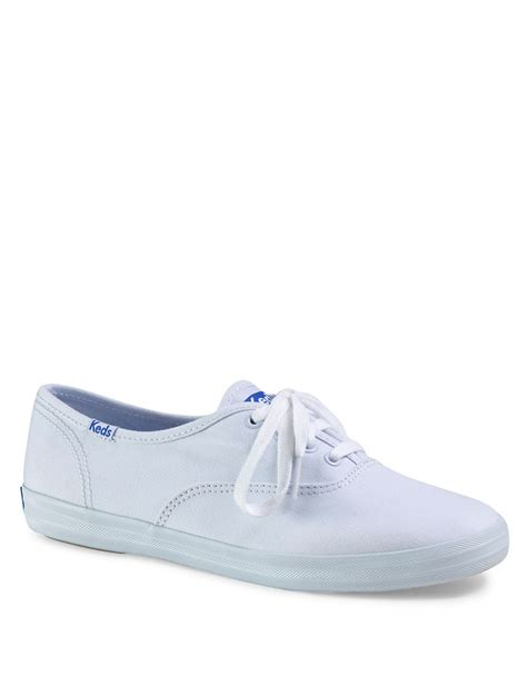 white sneakers keds chion original sneakers in white lyst