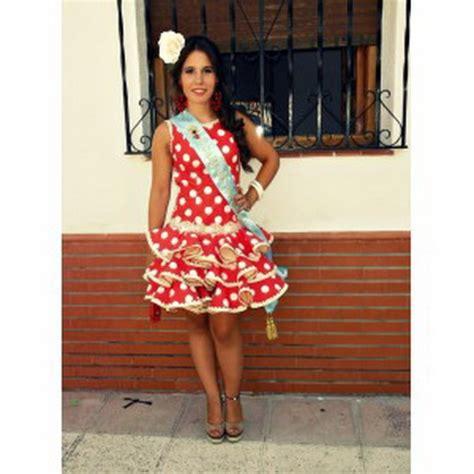 vestido gitana corto trajes flamenca corto