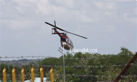 Kipas Helikopter rutin kerja
