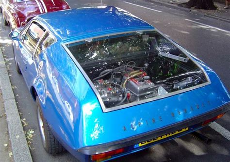 renault alpine a310 engine engine compartment on a renault alpine a310 cars other