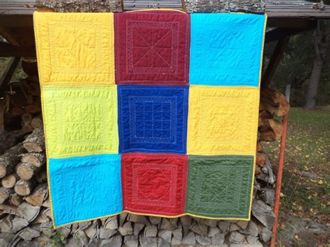 Easy Quilt As You Go by Cat Quilts For The Boys Quilt As You Go Simple