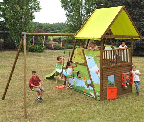 parco giochi da giardino parco giochi per bambini mahori con altalene scivolo e