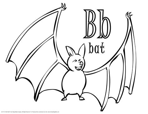 Bat Coloring Pages Preschool | halloween bat coloring pages festival collections